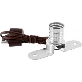 Lámpafoglalat Foglalat: E10 Csatlakozó: Banándugó, 2,6 mm BELI-BECO 10 db