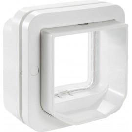 Háziállat ajtó SureFlap Mikrochip DualScan Fehér 1 db