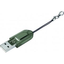 Renkforce CR14e Mini Külső memóriakártya olvasó USB 2.0 Fekete