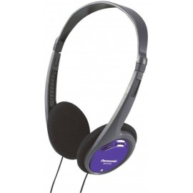 Könnyű fejpántos fejhallgató PANASONIC RP-HT 010 E-A