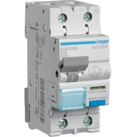 Hager ADA516D FI védőkapcsoló 1 pólusú 16 A 0.03 A 240 V