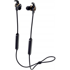 Renkforce RF-WH-150 Bluetooth® Sport In Ear sztereo headset In Ear Nyakpánt Fekete, Barna