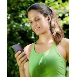 Renkforce RF-WH-150 Bluetooth® Sport In Ear sztereo headset In Ear Nyakpánt Fekete, Barna 5. kép