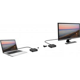 SpeaKa Professional SP-HDFS-04 HDMI rádiójel vezérlésű készlet 30 m 2.4 GHz 1920 x 1080 pixel 16. kép