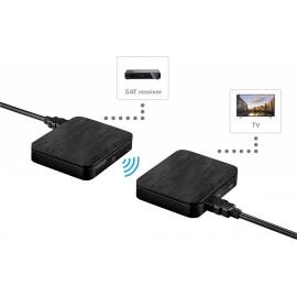 SpeaKa Professional SP-HDFS-04 HDMI rádiójel vezérlésű készlet 30 m 2.4 GHz 1920 x 1080 pixel 17. kép