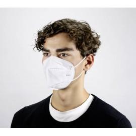 Pandémiás légzésvédő szájmaszk, KN95, FFP2, 10 db, CPA, Dekra tesztelt 5. kép