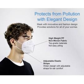 Pandémiás légzésvédő szájmaszk, KN95, FFP2, 10 db, CPA, Dekra tesztelt 6. kép