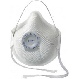 Finom por ellen védő szájmaszk szeleppel FFP2D, 20 db, Moldex Smart 248501