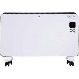 Sygonix SY-4289908 Konvektor 30 m² Fehér, Fekete