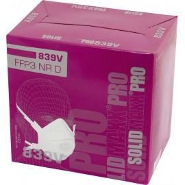 Finom por ellen védő maszk szeleppel FFP3 D L+D Upixx 26184 10 db