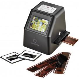 Renkforce DS100-8M Diaszkenner 8 MPix Digitalizálás számítógép nélkül, Kijelző, Memóriakártya nyílás