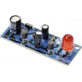 Kemo B186 Villogó fény építőkészlet Kivitel: Építőkészlet 6 V/DC, 9 V/DC, 12 V/DC