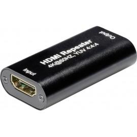 Maxtrack C 235 L HDMI extender készlet Fekete