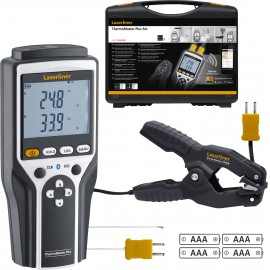 Laserliner ThermoMaster Plus Set Hőmérséklet mérőműszer -150 ... 1370 °C