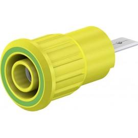 Stäubli SEB4-F/A Biztonsági labor alj Alj, beépíthető Zöld, Sárga 1 db