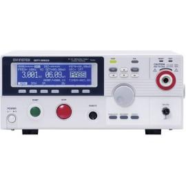GW Instek GPT-9803 Szigetelésmérő műszer, Túlfeszültség mérő 100 V, 250 V, 500 V, 1000 V 9500 MΩ