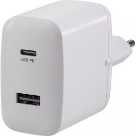 VOLTCRAFT UC-2ACX001 VC-11501480 USB-s töltőkészülék Aljzat dugó Kimeneti áram (max.) 3000 mA 2 x US