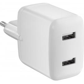 VOLTCRAFT VC-11374035 USB-s töltőkészülék Aljzat dugó Kimeneti áram (max.) 4800 mA 2 x USB