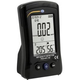 Formaldehid mérőkészülék PCE Instruments PCE-HFX 100 Hőmérséklet, Légnedvesség