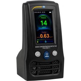 Finom por mérőkészülék PCE Instruments PCE-RCM 11 Hőmérséklet, Légnedvesség
