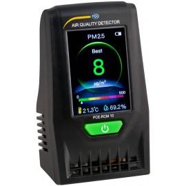 Finom por mérőkészülék PCE Instruments PCE-RCM 10 Légnedvesség, Hőmérséklet USB csatlakozóval