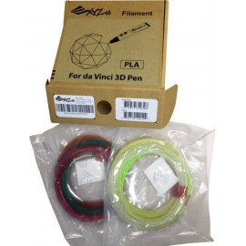 XYZprinting RFPLDXTW00H Nyomtatószál csomag PLA műanyag 1.75 mm Színek szerint szortírozva 1 db
