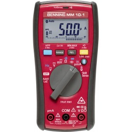 Benning MM 10-1 Kézi multiméter digitális Adatgyűjtő CAT IV 600 V Kijelző (digitek): 6000