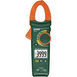 Extech MA445 Kézi multiméter, Lakatfogó digitális CAT III 600 V Kijelző (digitek): 4000