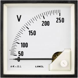 Lumel EA19 500V Beépített mérőeszköz 96 x 96 mm 500 V/AC Forgóvas