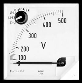 Lumel EP27 500V Beépített EP27 500V mérőkészülék 500 V/AC Forgóvas