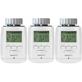 Eurotronic Vezeték nélküli fűtőtest termosztát Elektronikus 3 részes készlet