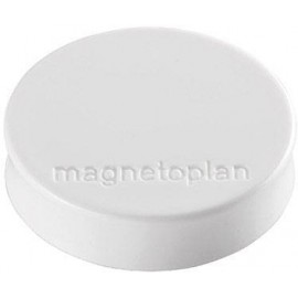 Magnetoplan Mágnes Ergo Medium (Ø x Ma) 30 mm x 8 m Kerek Fehér 10 db 1664000