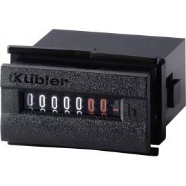Kübler 3,245,201,071 Kübler H37.5 üzemóra számláló / időszámláló DIN méretekkel, 48x24, 20-30VAC / 5