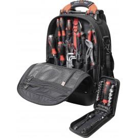 Wiha 45154 Univerzális Szerszámos hátizsák tartalommal 65 részes (Sz x Ma x Mé) 330 x 480 x 230 mm
