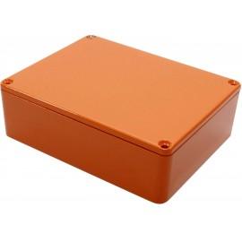 Hammond Electronics 1590BB2OR Univerzális műszerdobozok 119 x 94 x 38 Alumínium öntvény Narancs 1 db