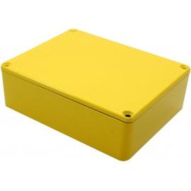 Hammond Electronics 1590BB2YL Univerzális műszerdobozok 119 x 94 x 38 Alumínium öntvény Sárga 1 db