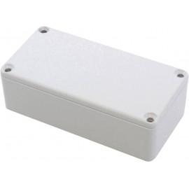 Hammond Electronics 1590G2LG Univerzális műszerdobozok 100 x 50 x 31 Alumínium öntvény Élénk szürke