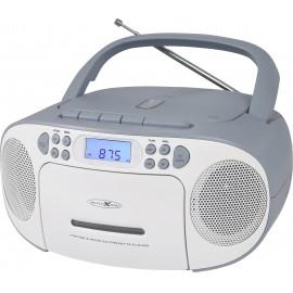 Reflexion RCR2260BL CD-s rádió URH AUX, CD, Kazetta, URH Kék-fehér