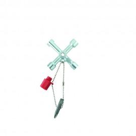 Weidmüller 9918130000 Kapcsolószekrény kulcs