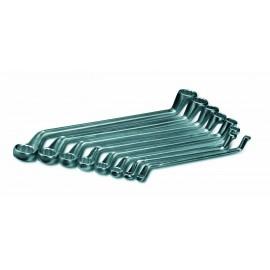 Cimco 112430 Kettős gyűrűskulcs készlet 8 részes 6 - 22 mm DIN 838, DIN ISO 3318