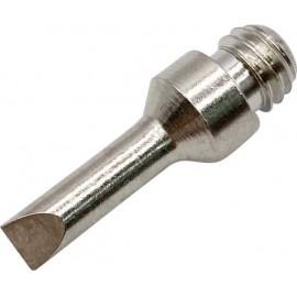 TOOLCRAFT T02 Forrasztóhegy Véső forma Hegy méret 7 mm Csúcs hossza 22 mm Tartalom, tartalmi egysége