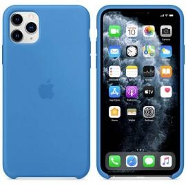 Apple iPhone 11 Max Silicone Case Silikon Case Apple iPhone 11 Pro Max Surf kék