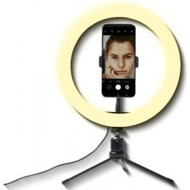 Selfie Ringlicht mit Handyhalter