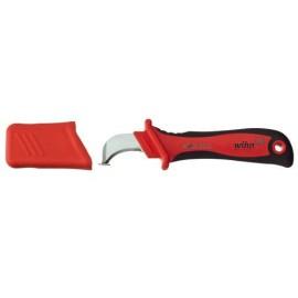 Kábelkés, kábelcsupaszoló blankoló kés, többszörösen szigetelt vastag kábelekhez Wiha 246 78 SB 3605