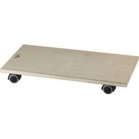 dörner + helmer 2906222 Vario Soft Roller Terhelés (max.): 80 kg