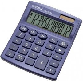 Citizen 7242534 Asztali számítógép Kék Kijelző (számjegy): 12 Elemekről üzemeltetett, Napenergiával