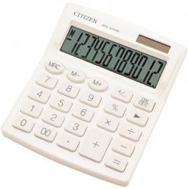 Citizen 7242502 Asztali számítógép Fehér Kijelző (számjegy): 12 Elemekről üzemeltetett, Napenergiáva