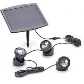 Pontec 77939 Tómegvilágítás 3 részes készlet LED 0.5 W Fekete