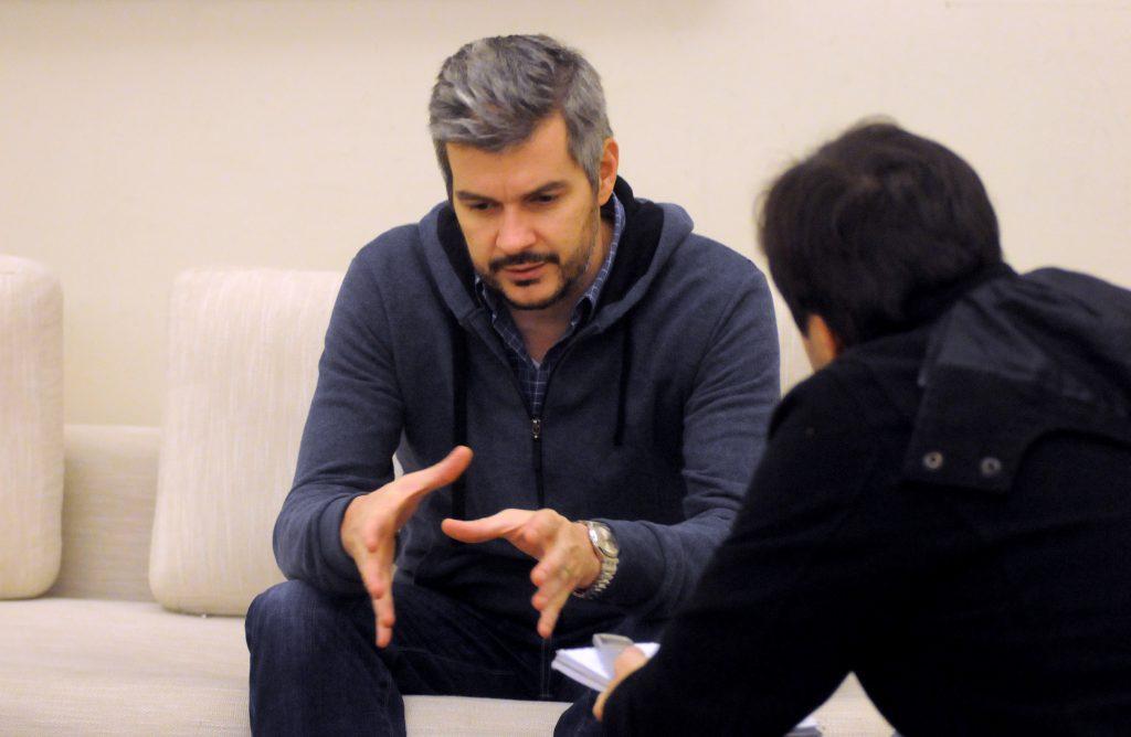 Marcos Peña en campaña: Habló de Mar del Plata y le pegó a Cristina ...