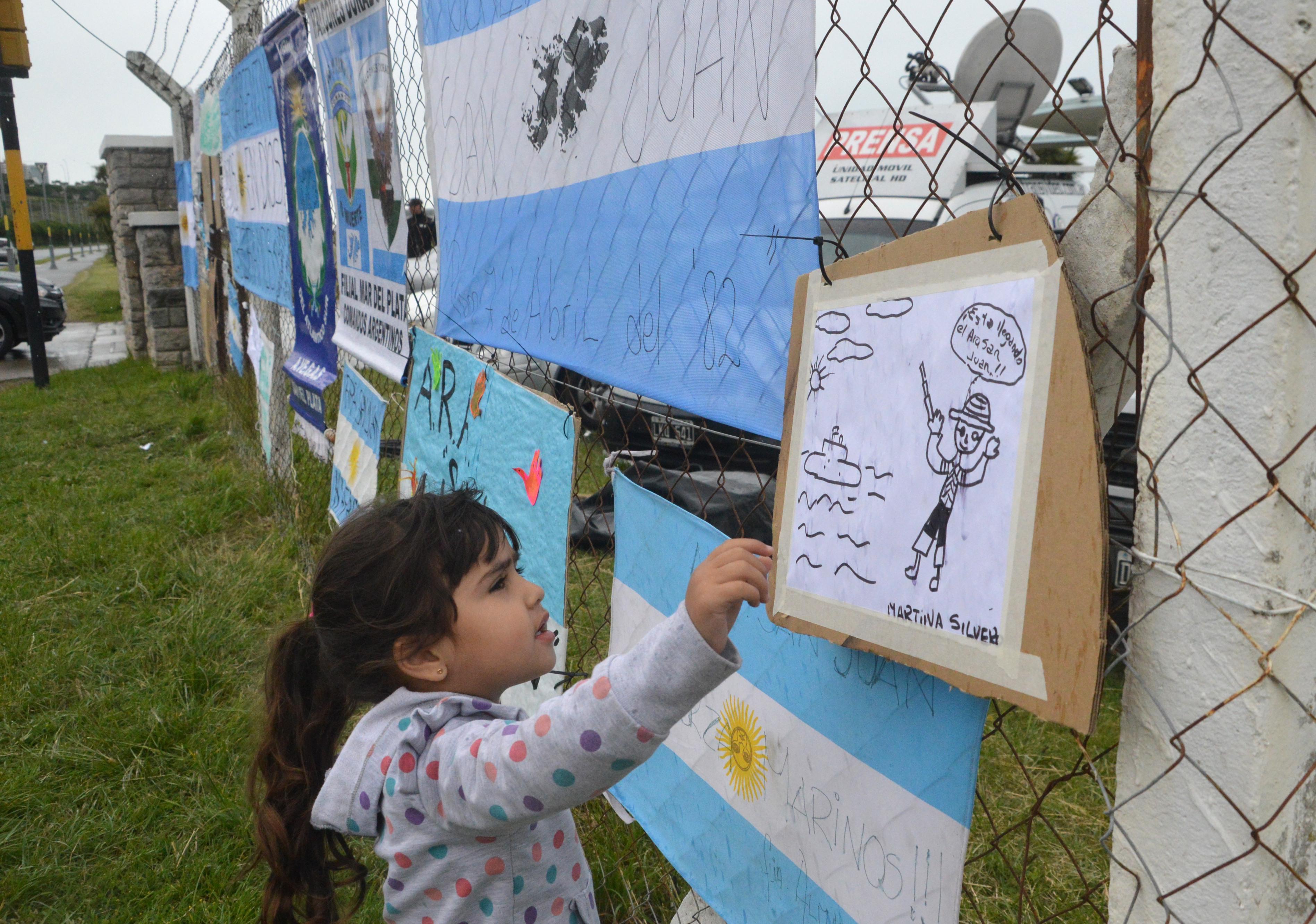 ARA San Juan: Nuevo reclamo y preocupación por la demora en la búsqueda